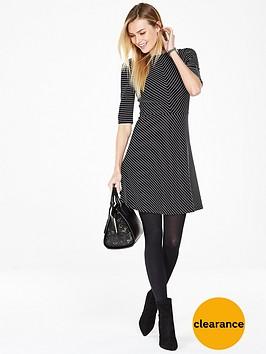v-by-very-structured-stripe-skater-dress