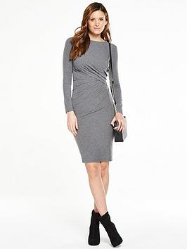 v-by-very-side-ruched-dress