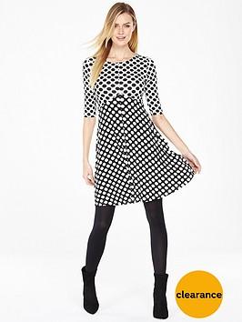 v-by-very-spot-print-skater-dress