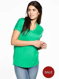 v-by-very-drapey-v-neck-t-shirt