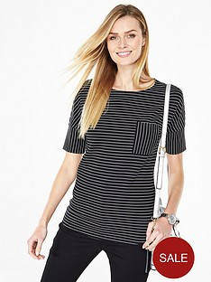 v-by-very-structured-stripe-top