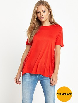 boss-orange-taplisse-pleat-back-t-shirt
