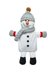 snowman-hot-water-bottle