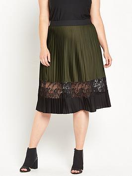 ri-plus-pleated-midi-skirt-with-lace-insert