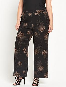ri-plus-floral-print-wide-leg-trouser