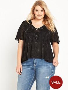 ri-plus-embellished-top-black