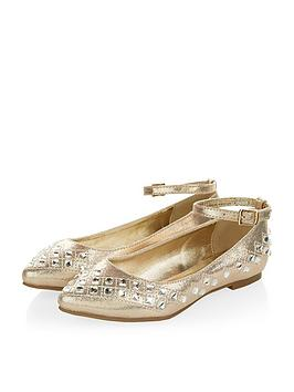 monsoon-girls-almond-toe-gem-flats