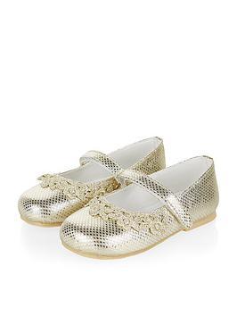monsoon-baby-girls-lace-garland-metallic-walkers