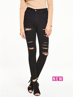 v-by-very-petite-ripped-ladder-skinny-high-rise-jean