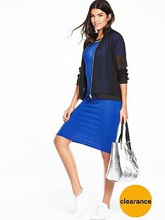 v-by-very-sport-trim-midi-dress