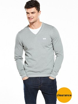 boss-green-v-neck-jumper