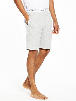 calvin-klein-branded-waist-lounge-shorts-grey-heather