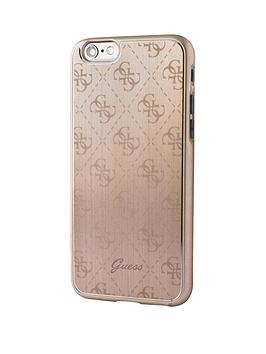 guess-guess-4g-aluminum-plate-hard-case-gold-iphone-66s
