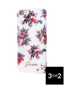 guess-guess-blossom-tpu-case-white-iphone-66s