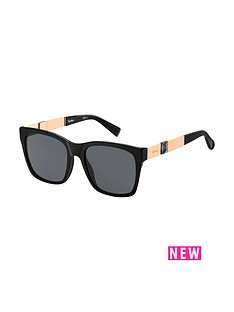 max-mara-stone-rectangle-sunglasses