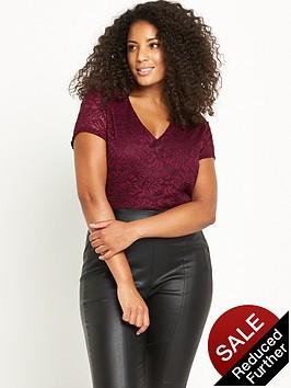 so-fabulous-curve-vneck-lace-bodysuit