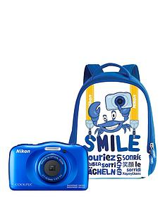 nikon-coolpix-w100nbspcamera-with-backpack-kit--nbspbluenbsp