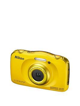 nikon-coolpix-w100-yellow