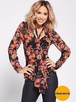 myleene-klass-garden-floral-printed-blouse