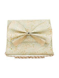 monsoon-girls-metallic-print-bow-bag