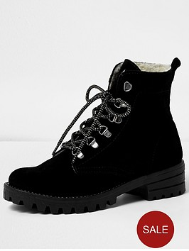 river-island-chunky-lace-up-hiker-boot