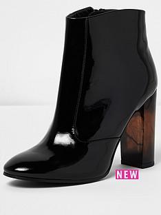 river-island-river-island-patent-tort-heel-high-boot