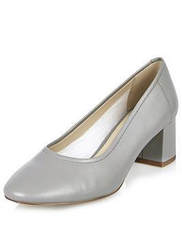 river-island-block-heel-glove-shoe
