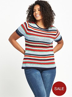 so-fabulous-short-sleeve-striped-knitted-t-shirt