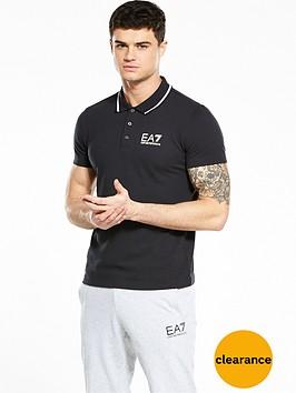 emporio-armani-ea7-logo-pique-polo-shirt