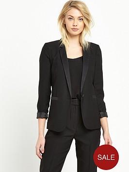 miss-selfridge-tux-jacket-black