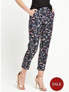 miss-selfridge-jacquard-co-ord-trouser