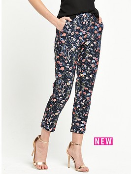 miss-selfridge-jacquard-co-ord-trouser