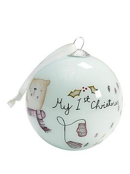 mamas-papas-my-1st-christmas-bauble-blue