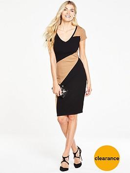 phase-eight-clariss-block-knit-dress