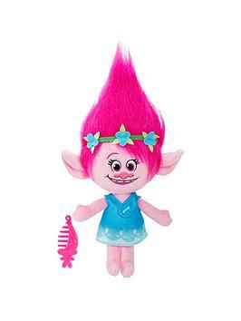 dreamworks-trolls-dreamworks-trolls-poppy-talkin-troll-plush-doll