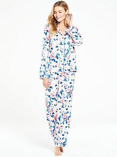 v-by-very-florida-blooms-satin-pyjama-set