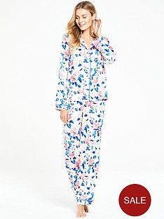 v-by-very-florida-blooms-satin-pyjama-set
