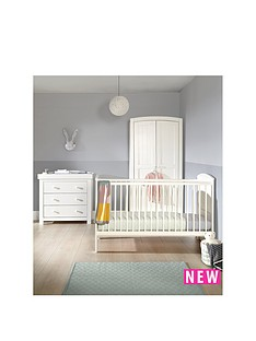 mamas-papas-hayworth-cot-bed-dresser-amp-wardrobe-white