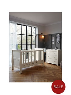mamas-papas-mia-cot-bed-and-dresser-ivory