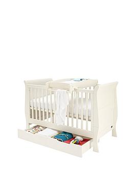 mamas-papas-mamas-amp-papas-mia-sleigh-cot-bed-underbed-storage-amp-cot-top-changer-ivory