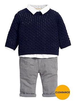 mamas-papas-baby-boys-shirt-jumper-and-trousers-set