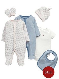 mamas-papas-baby-girls-gift-set-6-piecenbsp