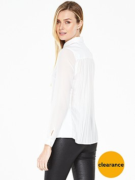 v-by-very-pleat-back-cotton-shirt