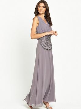 little-mistress-open-back-maxi-dress-grey