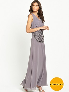 little-mistress-open-back-maxi-dress-grey