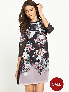 little-mistress-printed-shift-dress