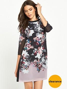 little-mistress-printed-shift-dress