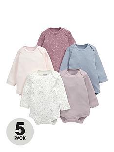 mamas-papas-baby-boys-long-sleeve-printed-bodysuits-5-pack