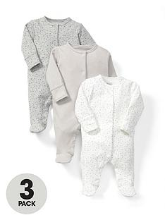 mamas-papas-baby-unisex-sand-sleepsuitsnbsp3-pack