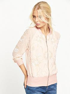 little-mistress-embellished-bomber-jacket-nude